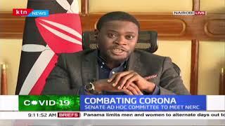 Senator Sakaja: Ultimately we expect Coronavirus relief legislation passed by both houses