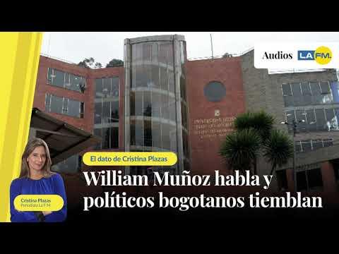 William Muñoz habla y politicos bogotanos tiemblan
