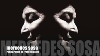 Mercedes Sosa - Pobre Patria