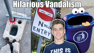 Hilarious Acts Of Vandalism (Funny Fails)