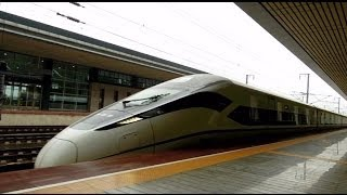preview picture of video 'CRH380D, The Newest High Speed train in China 中國最新之高速列車'