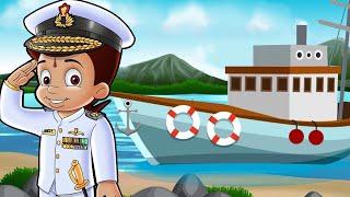 Chhota Bheem - Dholakpur Ka Khufia Jahaz | Cartoons for Kids in Hindi