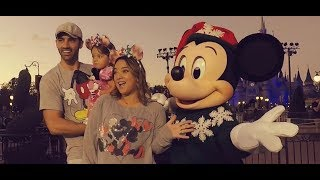 Alaïa, Adamari y Toni, Navidades en Disney 2017