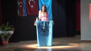 Ganire Paşayeva Bolu Konferansı 13/05/2013