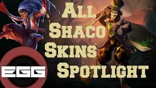 All Shaco Skins Spotlight | League of Legends Skin Review