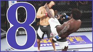 UFC 2 Career Mode Ep.8 - PERFORMANCE OF THE NIGHT!! | UFC 2 Gameplay