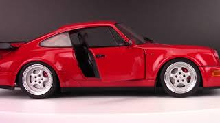 Solido Porsche 911 (964) 3 6 Turbo