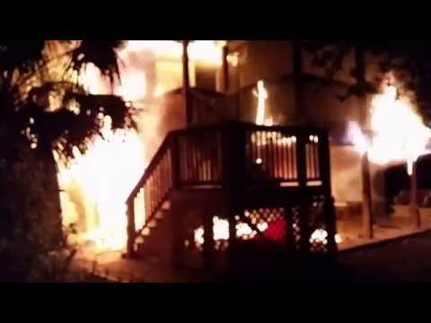 My house burned down :(