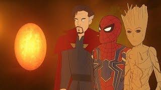 Мстители в Камне Души / Война Бесконечности