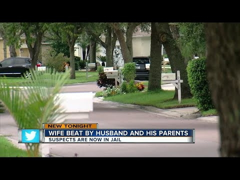 Wife beaten by husband and his parents