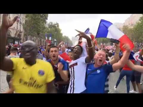 Dejan dos muertos disturbios por celebraciones en Francia