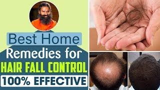 Best Home Remedies For Hair Fall Control – 100% Effective! | Swami Ramdev