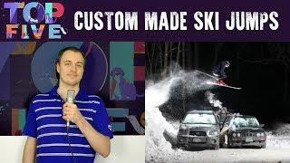 Top 5 Impressive Custom Made Ski Jumps