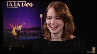 LA LA Land Interviews  Emma Stone Damien Chazelle  Whiplash
