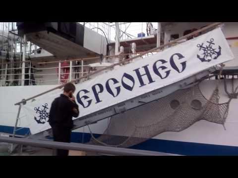 Парусный фрегат Херсонес. Ялта \ Крым 1 июня 2017