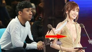 Thấy Hari Won diện váy khoe vòng 1