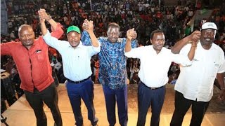 Opposition parties set to unveil election unity deal - VIDEO