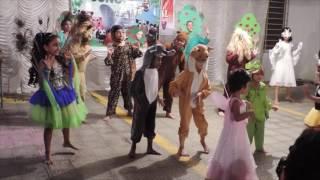 Jungle theme dance by kids - YouTube
