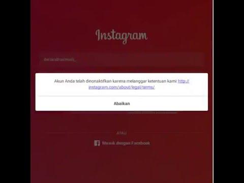 Video Cara Mengembalikan Akun Instagram Yang Dinonaktifkan/Di HEKK ~~~ PIN BBM ? - BACA DI DESKRIPSI VIDEO