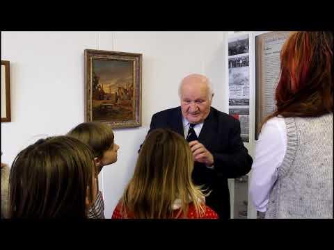 Antonín Nešpor hovoří o obrazu Lidice malíře Karla Karase