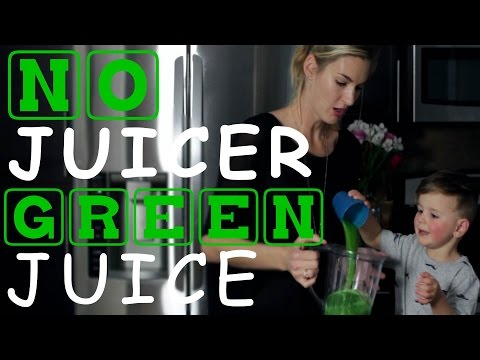 Video How To Make Green Juice In A Blender