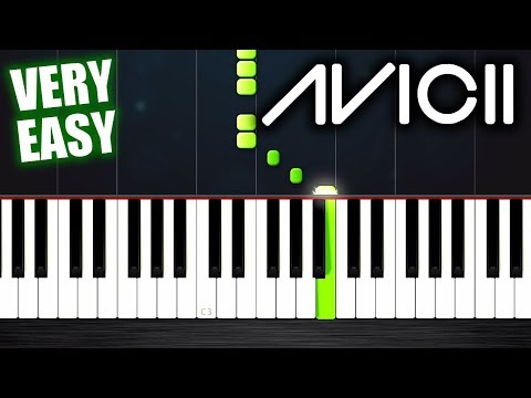 Avicii - Levels - Piano Tutorial but it's VERY EASY