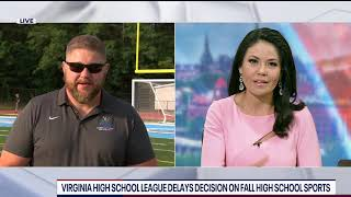 Analysis: Virginia High School League delays decision on fall high school sports | FOX 5 DC