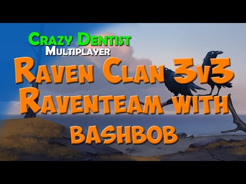 Northgard Raven clan in 3v3 | Raventeam with bashbob