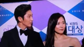 Lee Joon Gi 2014KBS演技大賞 Red Carpet 141231