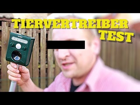 !!! ACHTUNG TIERVERTREIBER ULTRASCHALL TEST REVIEW von Amazon