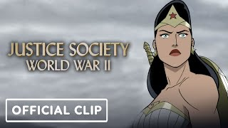 Justice Society: World War 2 - Official Clip (2021) Matt Bomer, Stana Katic by IGN