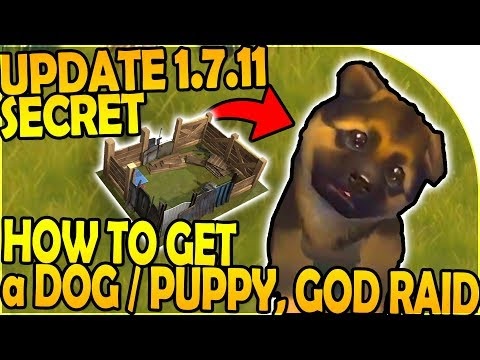 UPDATE 1.7.11 SECRET - HOW TO GET A PUPPY / DOG, GOD RAID - Last Day On Earth Survival 1.7.10 Update