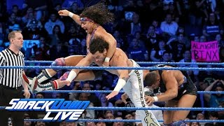 American Alpha vs. Breezango: SmackDown LIVE, Feb. 21, 2017