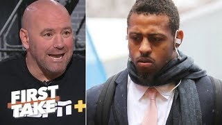 Dana White defends Greg Hardy against critics   First Take