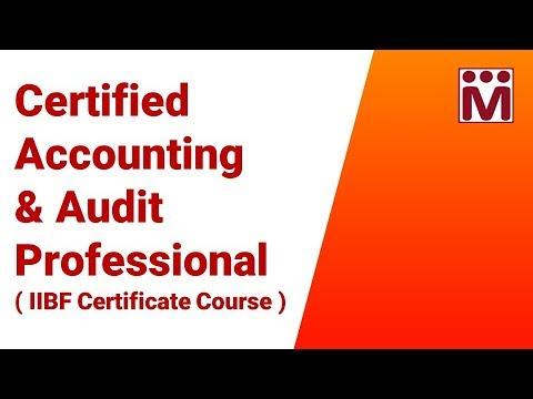 Certified Accounting & Audit Professional - IIBF Mock Test - YouTube