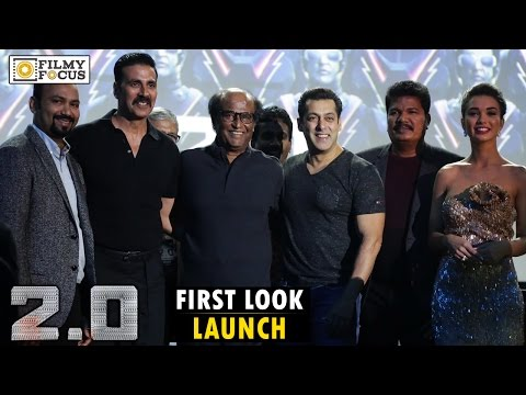 2.0 First Look Launch || Full Video || Rajinikanth, Akshay Kumar, Salman Khan, Shankar, Amy Jackson