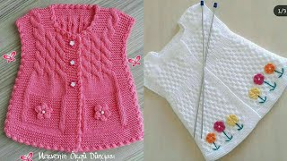 Beautiful And Gracefull Hand Knitting Baby Sweaters Designs