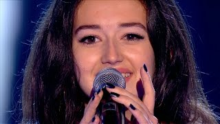 Rosa Iamele performs 'White Noise' - The Voice UK 2015: Blind Auditions 4 - BBC One