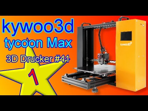 Kywoo Tycoon Max X-Linear Rail DIY 3D Printer with Larger Building Size 300*300*230mm