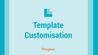 Template Customisation thumbnail