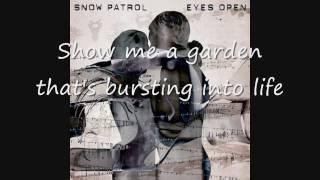 Snow Patrol - Chasing Cars (Lyrics)