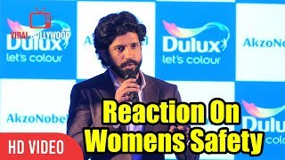 Farhan Akhtar Reaction On Women's Safety | Viralbollywood