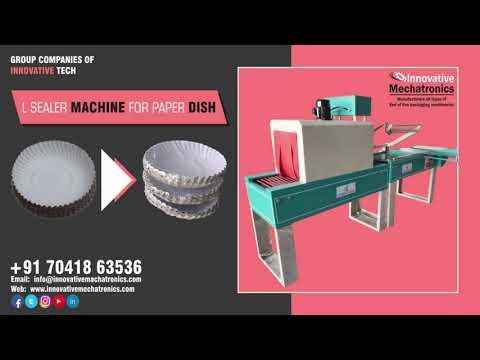 Paper Dish L-sealing Packing Machine