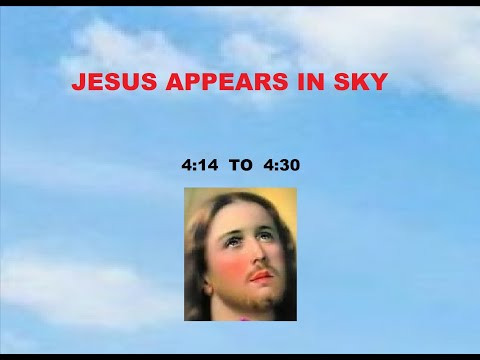 JESUS APPEARING IN SKY