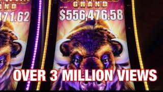 Gambar cover Buffalo Grand Slot Super Jackpot Handpay -Biggest Buffalo Win on YouTube -