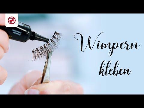 Tutorial | künstliche Wimpern | Wimpern kleben & entfernen