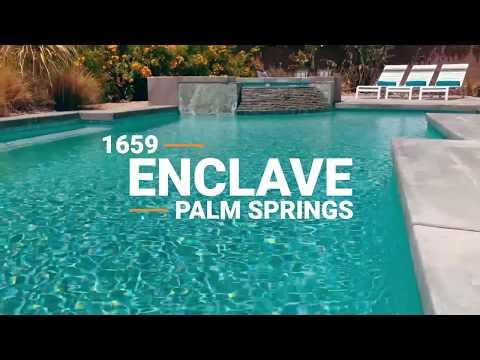 Palm Springs pool home – 1659 Enclave Way