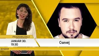 Programajánló / TV Szentendre / 2018.01.25.