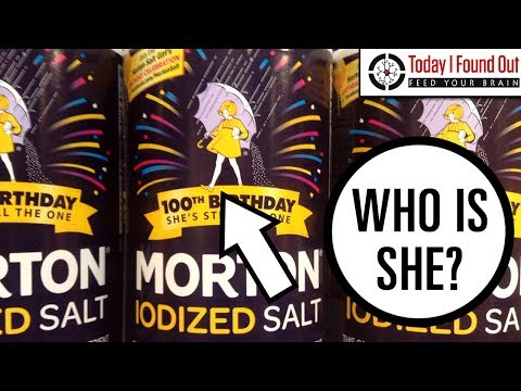 The Story Behind the Morton's Salt Girl