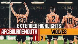 Moutinho & Jimenez on target on the south coast! Bournemouth 1-2 Wolves | Extended Highlights